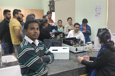 Hands on training on Particle Size Analyzer (19/02/2020)